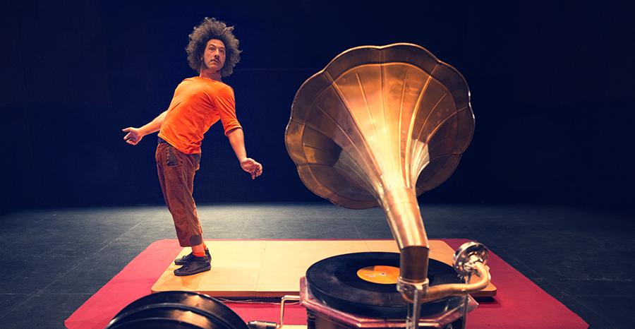 Artistas La güasa circo teatro mobil
