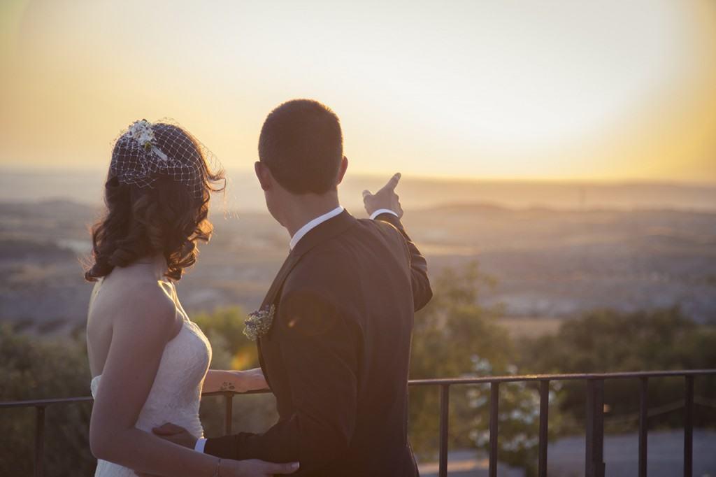 fotografo bodas madrid atardecer