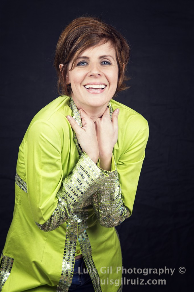 Sesión fotográfica cantante Lys Pardo