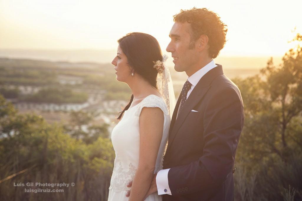 David y Esther posando