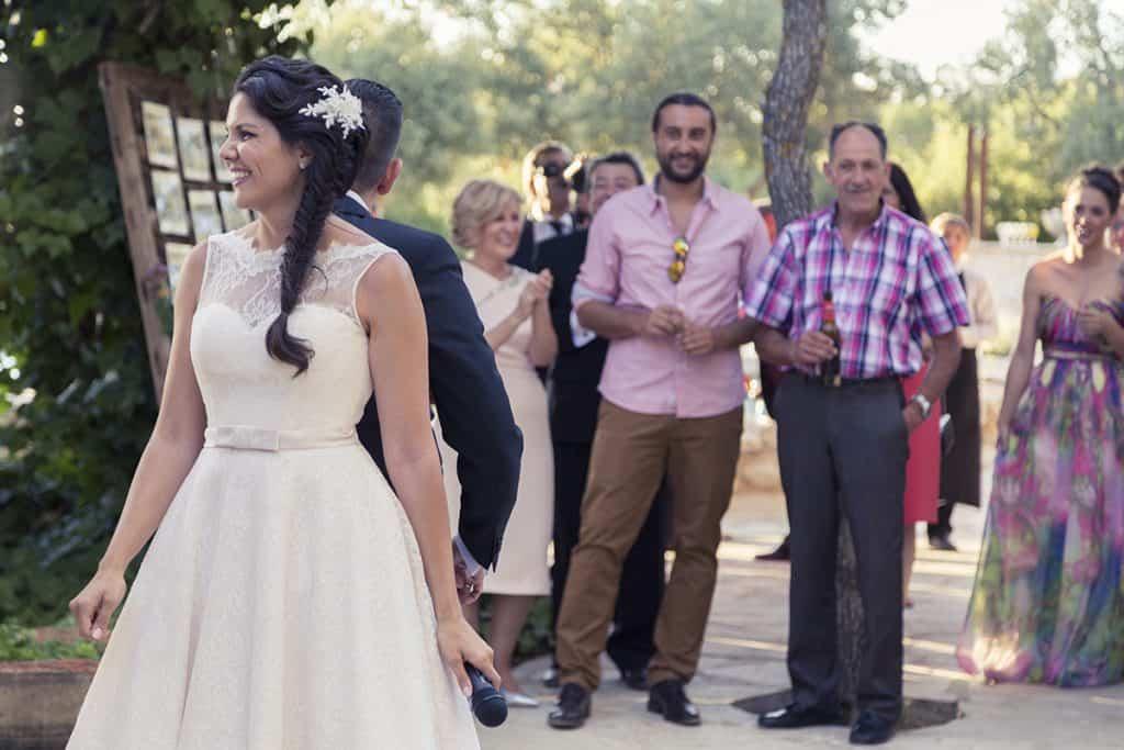 Fotografía natural y emotiva de boda en Córdoba. El baile